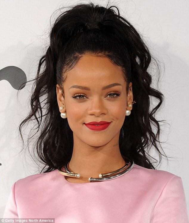 Singer Rihanna - age: 32