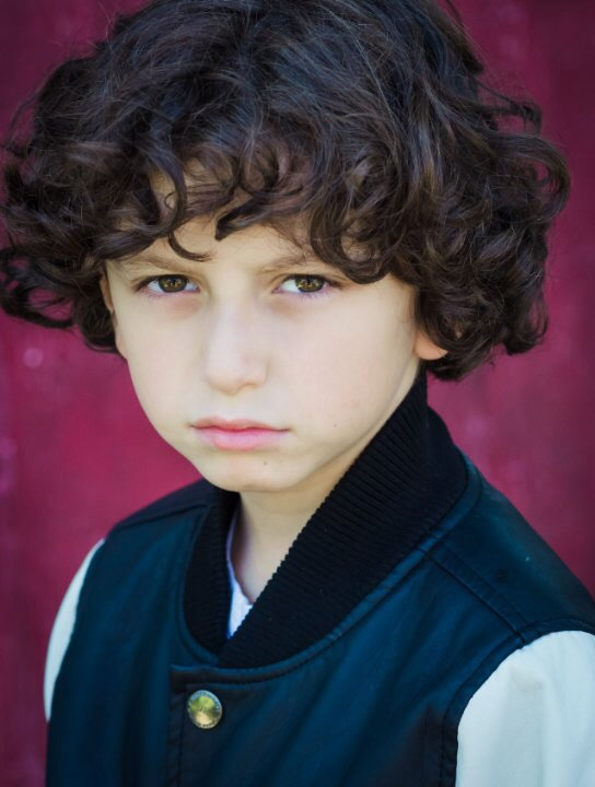 Actor August Maturo - age: 13