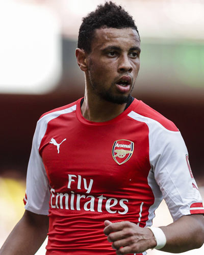 Soccer Player Francis Coquelin - age: 29