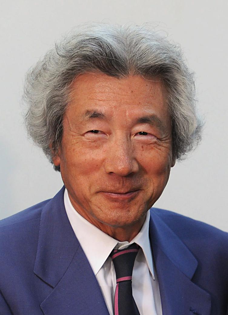 Politician Junichiro Koizumi - age: 78