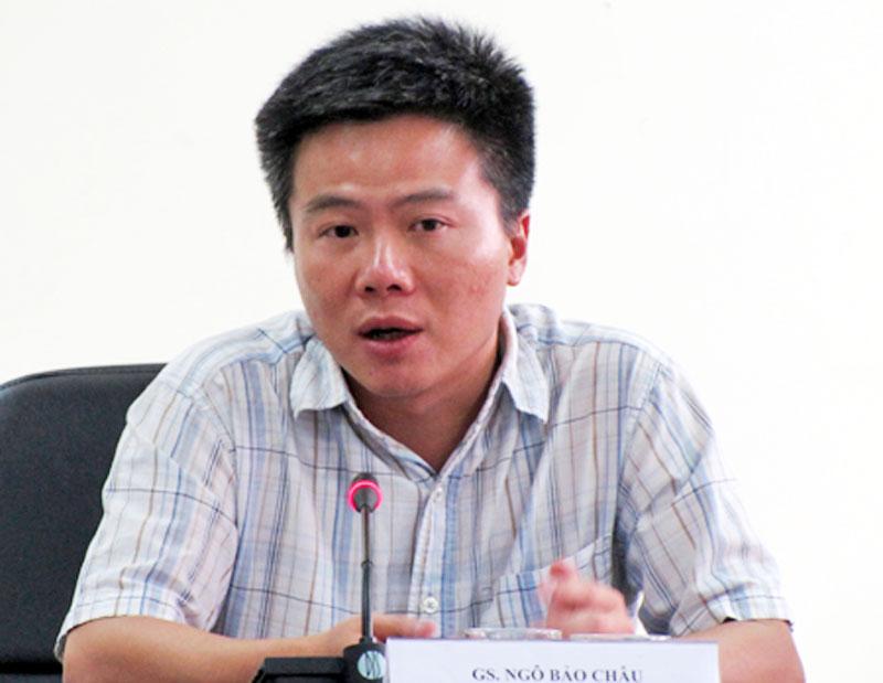 Mathematician Ngo Bao Chau - age: 48