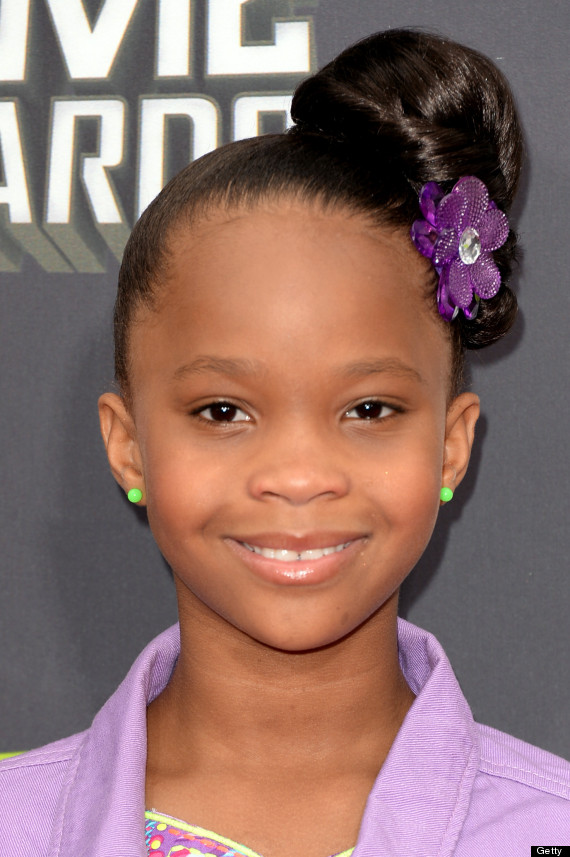 Actress Quvenzhane Wallis - age: 14