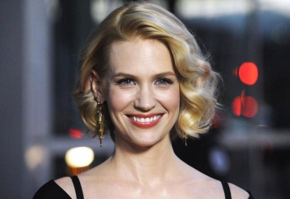 Movie actress January Jones - age: 43