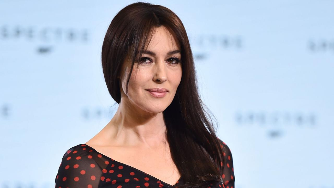 Actress and fashion model Monica Bellucci - age: 52