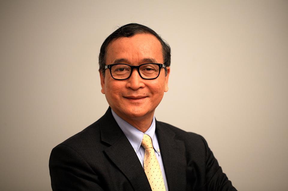 Cambodian Politician Sam Rainsy - age: 71