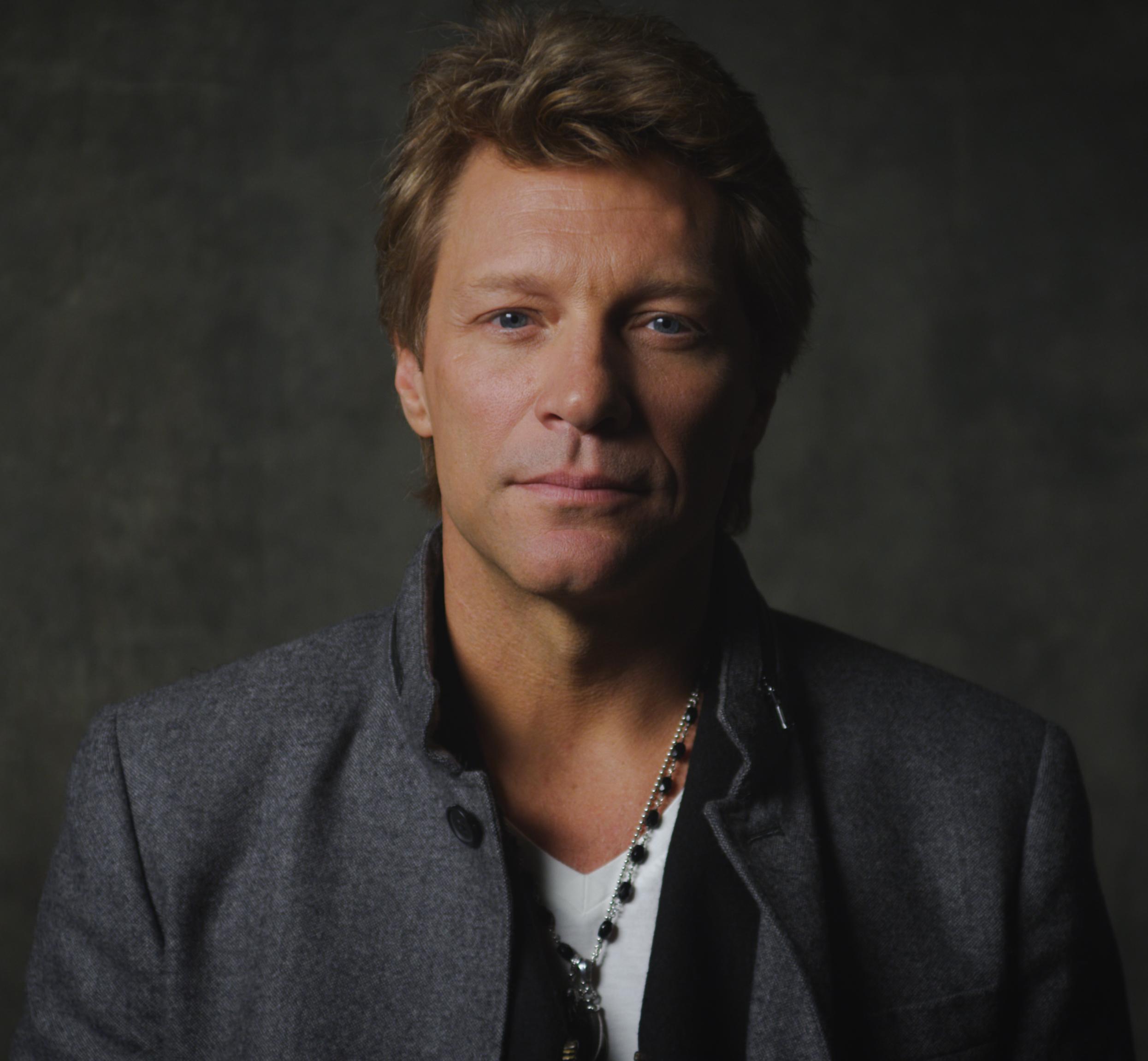 Singer-songwriter Jon Bon Jovi  - age: 2