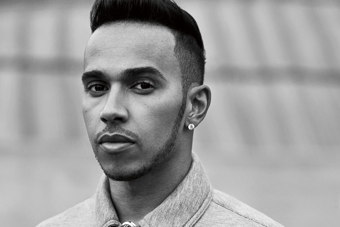 Racing driver Lewis Hamilton - age: 32