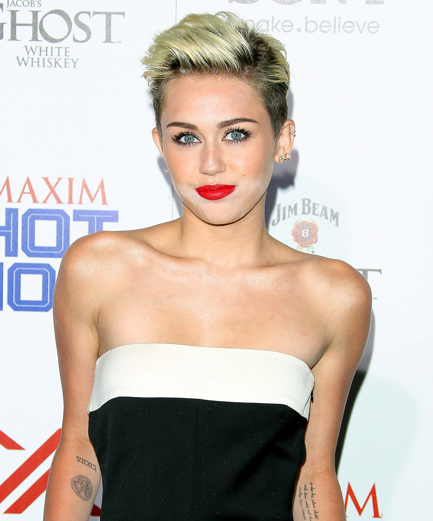 Singer Miley Cyrus - age: 24