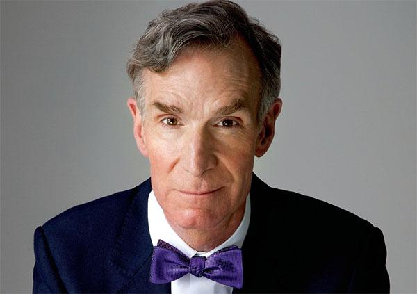 Scientist   Bill Nye  - age: 62