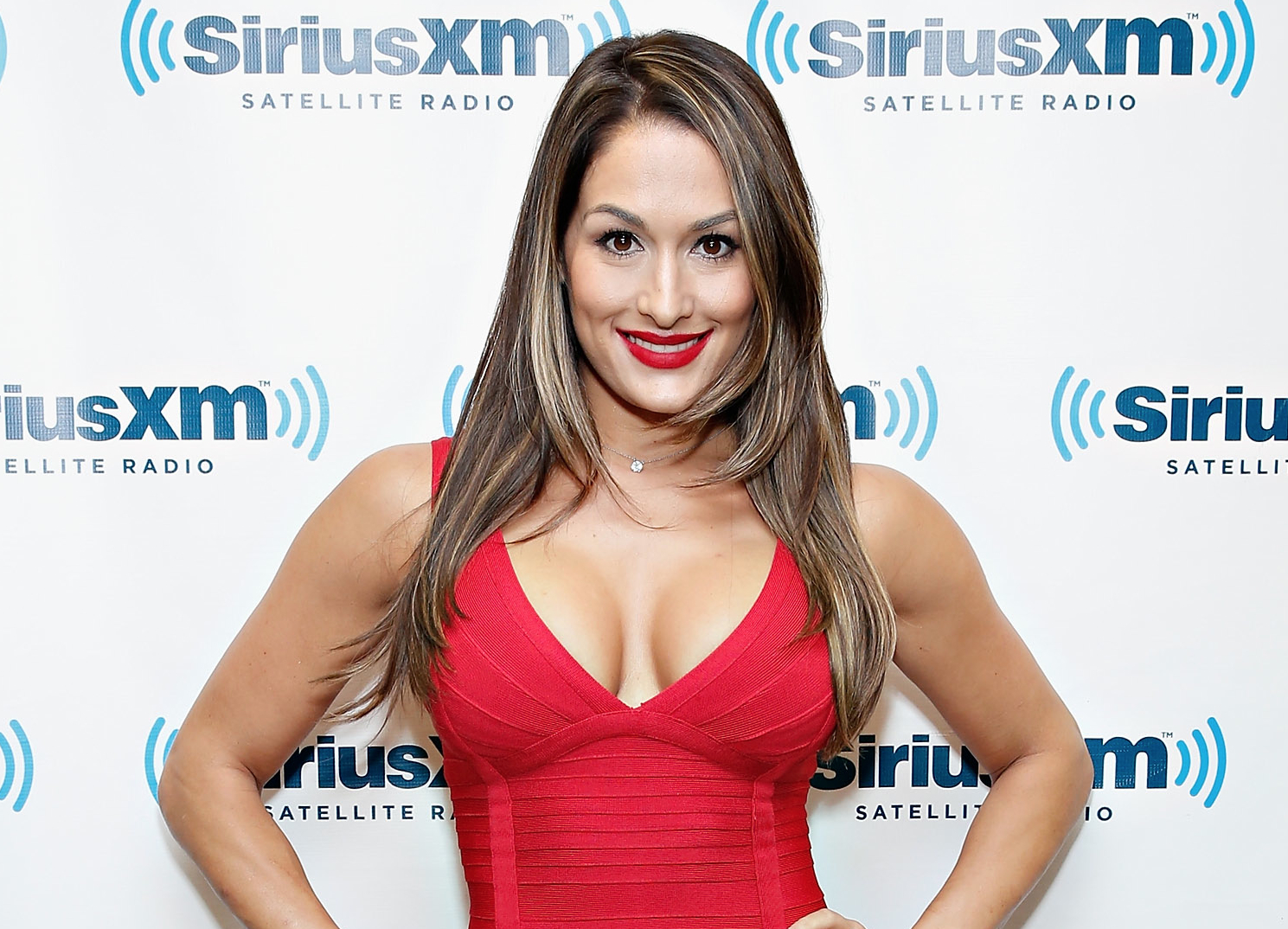 Wrestler Nikki Bella  - age: 34