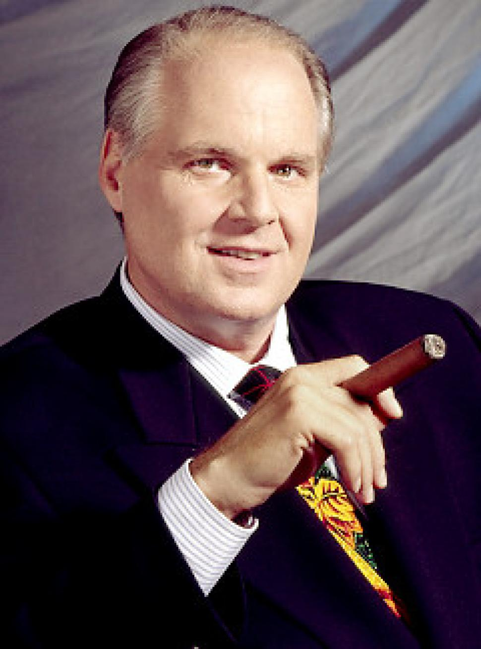 talk show host Rush Limbaugh - age: 70