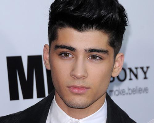 Singer Zayn Malik - age: 24