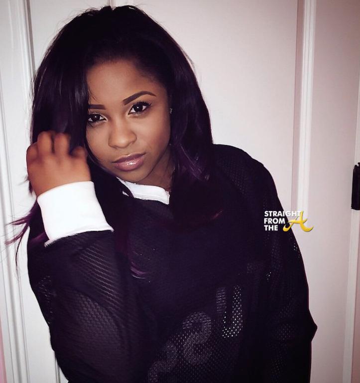 Rapper Reginae Carter  - age: 19