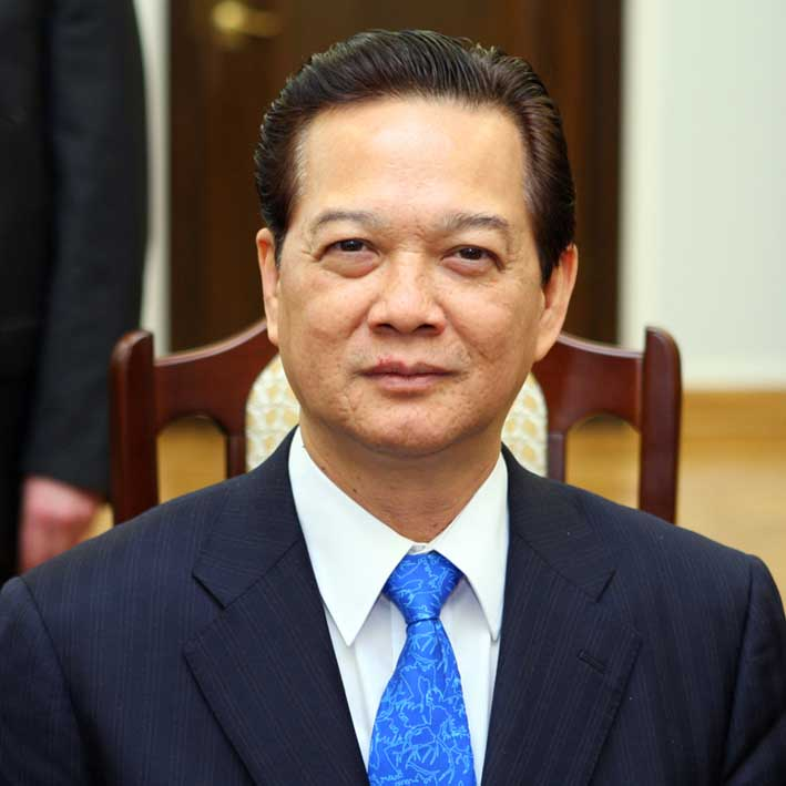 Prime Minister Nguyen Tan Dung - age: 71