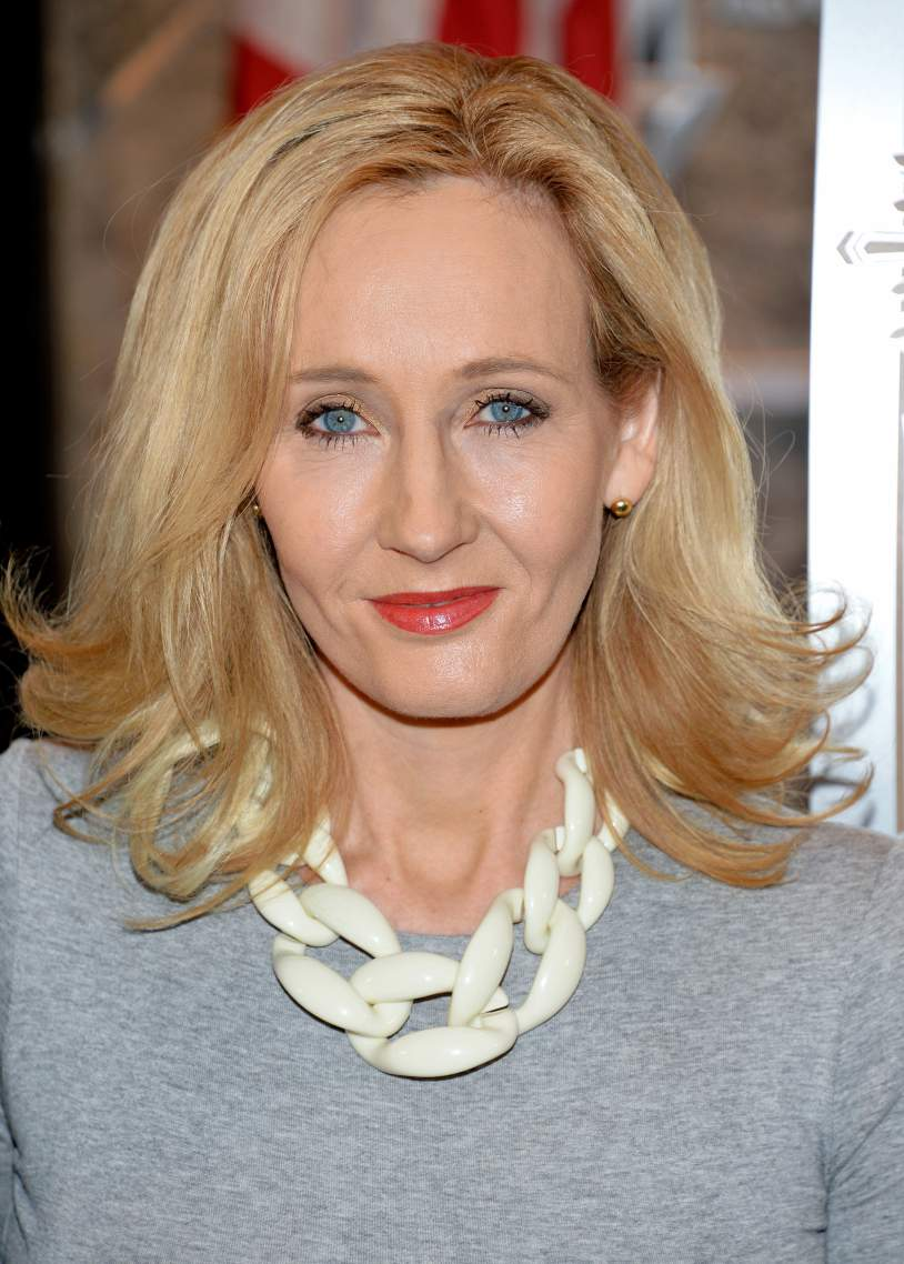 Novelist JK Rowling - age: 55