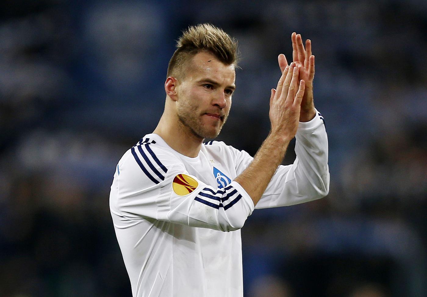 Andriy Yarmolenko - age: 31