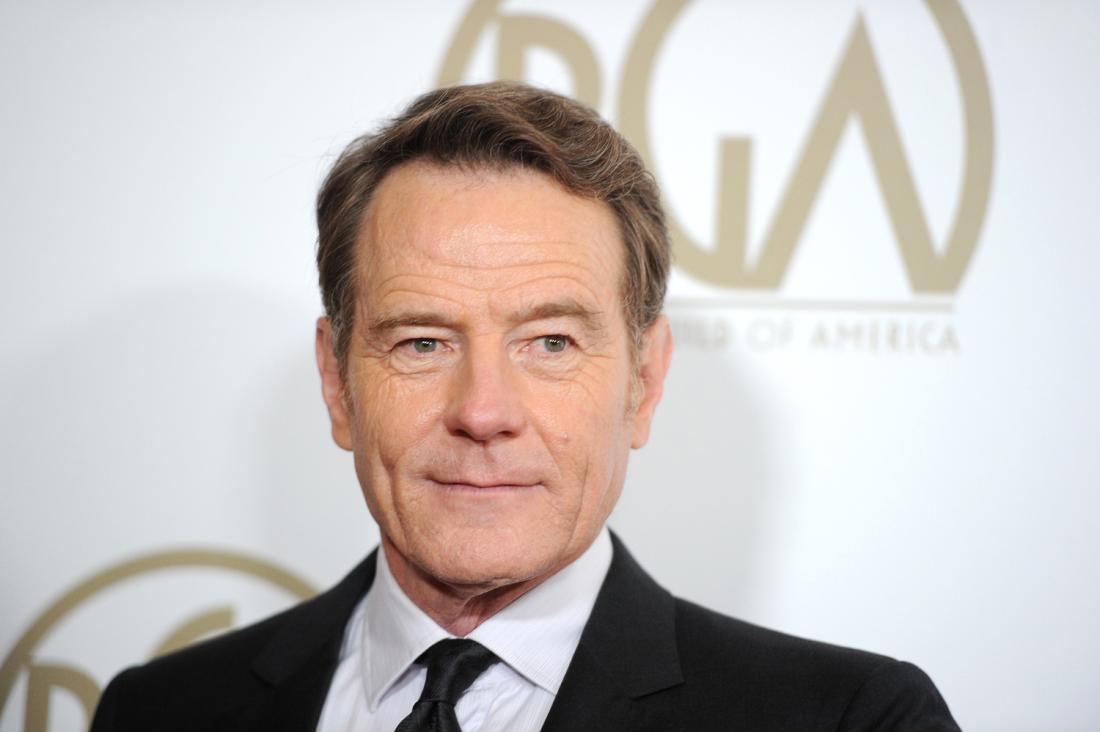 Film Actor, Producer, Director Bryan Cranston - age: 61