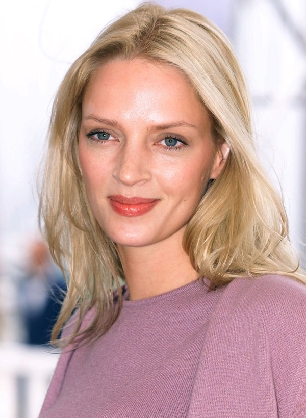 Movie actress Uma Thurman - age: 47