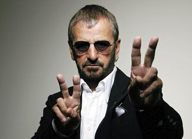 Musician Ringo Starr - age: 77