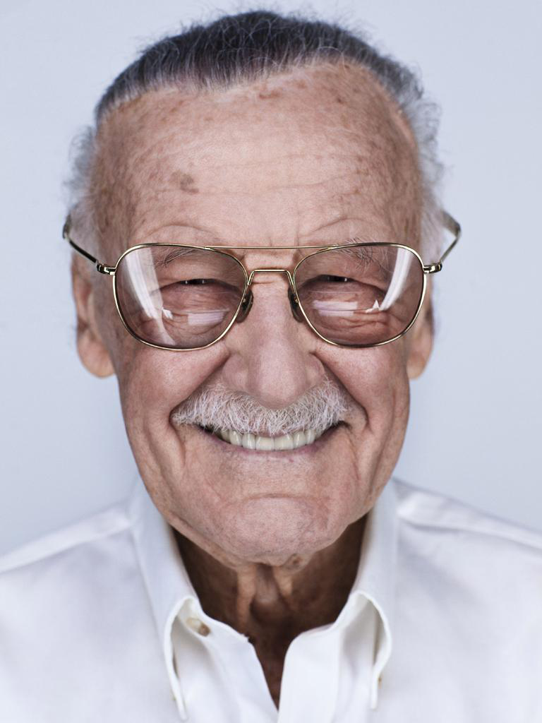 Comic Book Author Stan Lee - age: 94