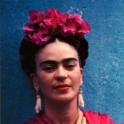 Painter Frida Kahlo - age: 47