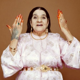 Singer-songwriter Cheikha Rimitti  - age: 83
