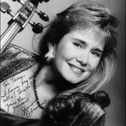 Cellist Sharon Robinson - age: 71