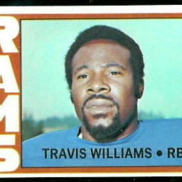 Football player Travis Williams - age: 45