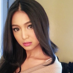 actress and singer Nadine Lustre - age: 23