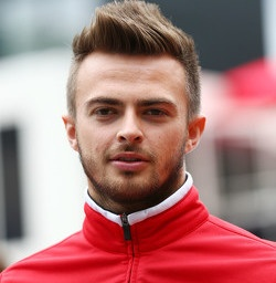 Racing driver Will Stevens - age: 29