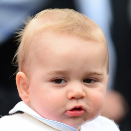Royal Baby Prince George - age: 7