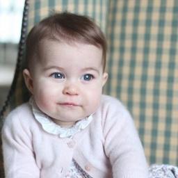 Royal princess Princess Charlotte  - age: 2
