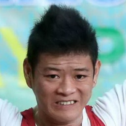 Male Weightlifter Thach Kim Tuan - age: 23