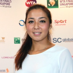Tennis player Zarina Diyas - age: 27