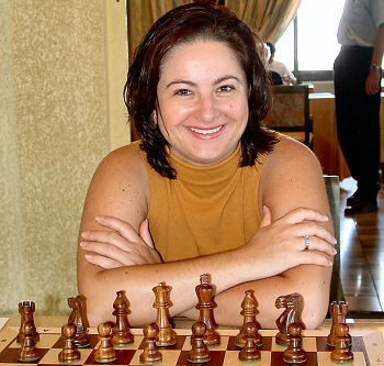 Chess Player Anjelina Belakovskaia - age: 51