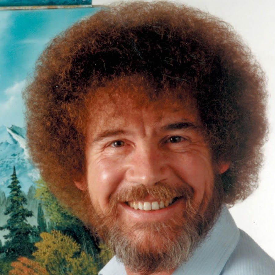 Painter Bob Ross - age: 52